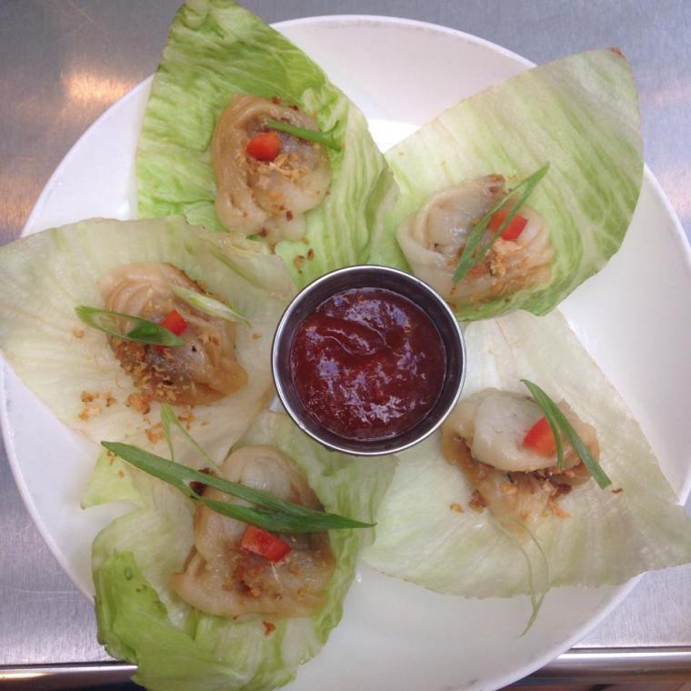 thai crepe dumplings