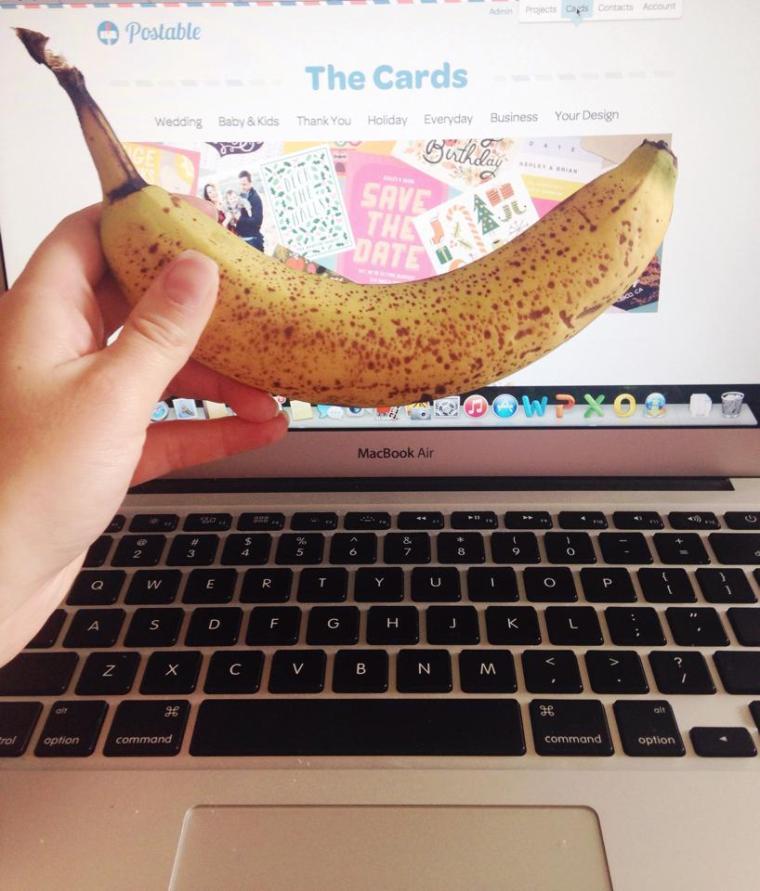 banana snack